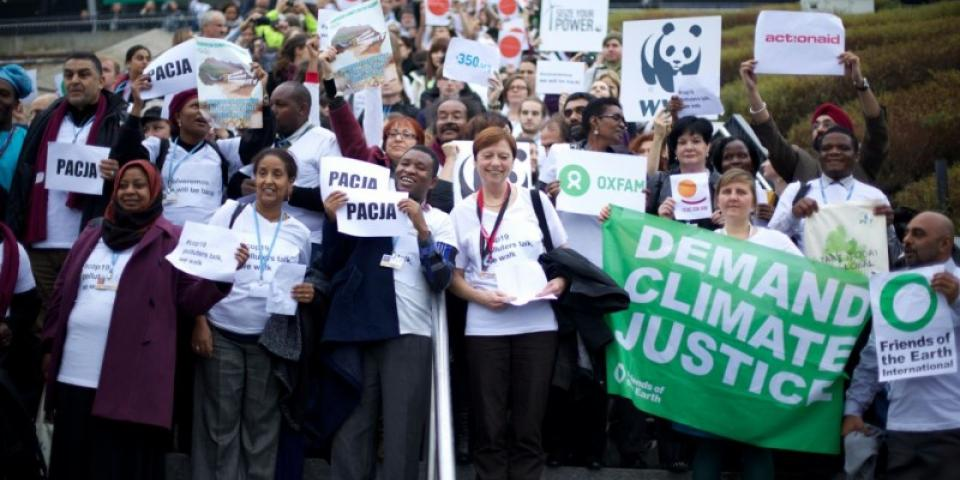 Friends of the Earth demand Climate Justice
