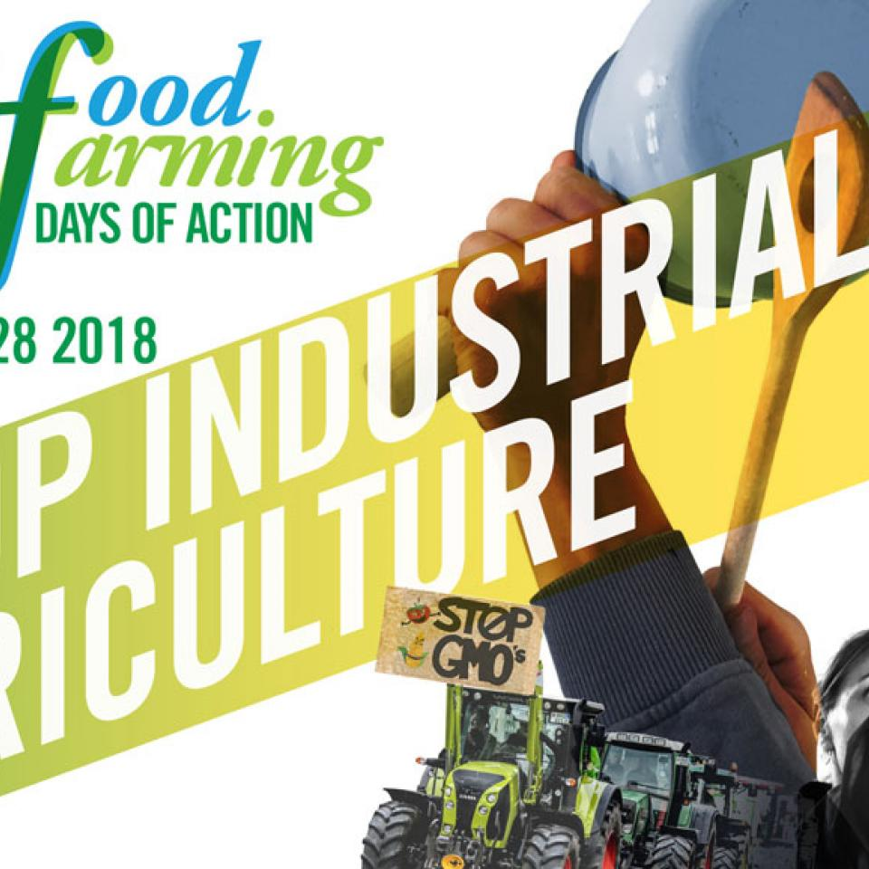 stop industrial agriculture