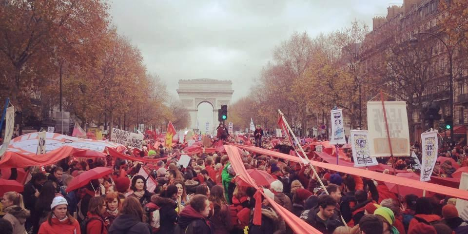 demo paris
